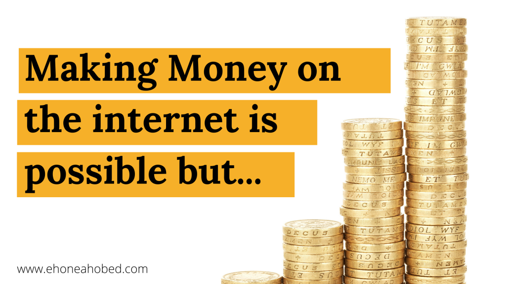 money on the internet